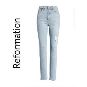 """REFORMATION 11"""" High Waist Hepburn"""